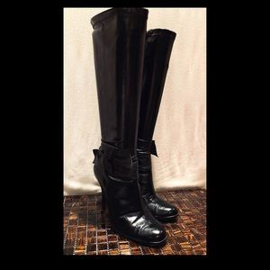 Steve Madden Black Knee High Boots - Size 8 1/2